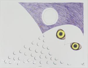 'Hunting Eyes' by Ningeokuluk Teevee