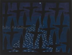 'Night Flight' by Ningeokuluk Teevee