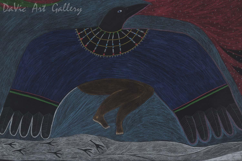 6ba7e1c0 The Woman Turned into a Raven