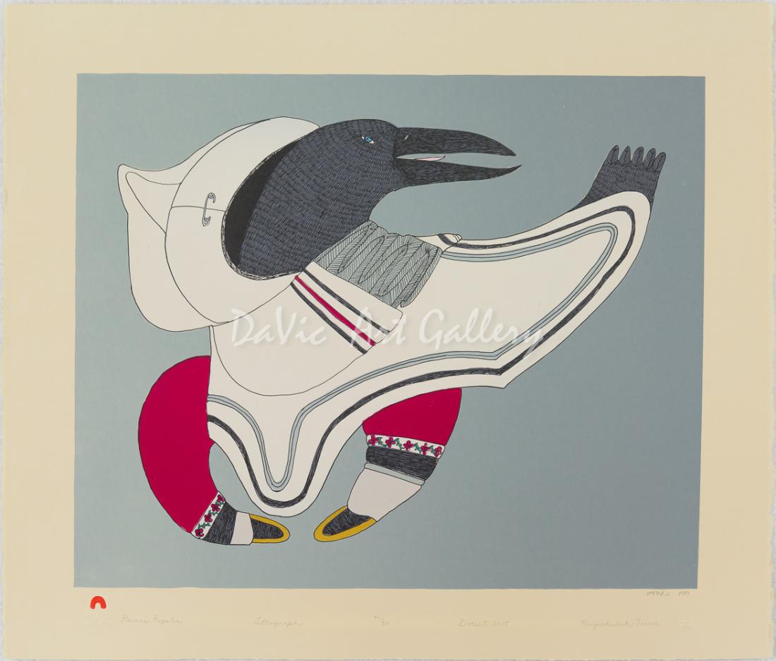 'Raven's Regalia' by Ningeokuluk Teevee