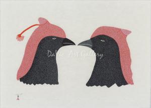 'Crested Ravens' by Papiara Tukiki