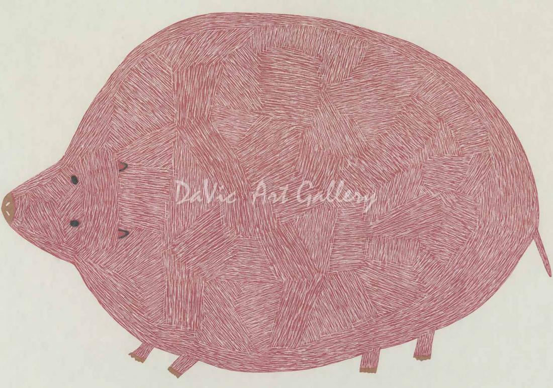 'Pink Lemming' by Saimaiyu Akesuk