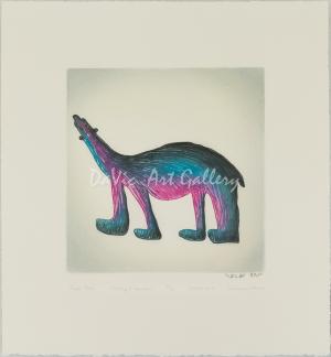 'Purple Bear' by Saimaiyu Akesuk