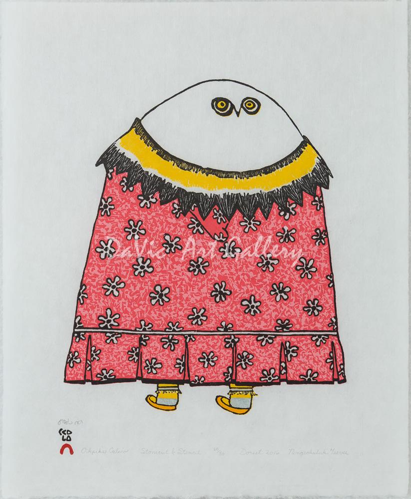 'Okpik's Calico' by Ningeokuluk Teevee