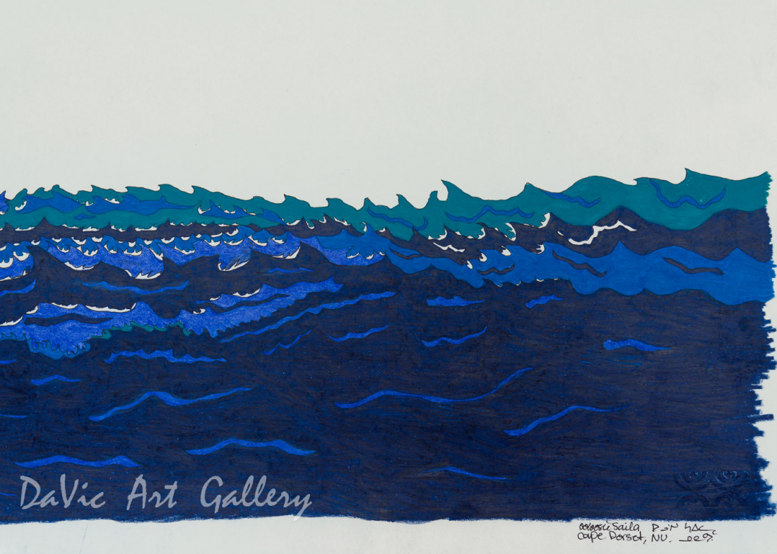 Untitled(The Cold Sea) by Ooloosie Saila