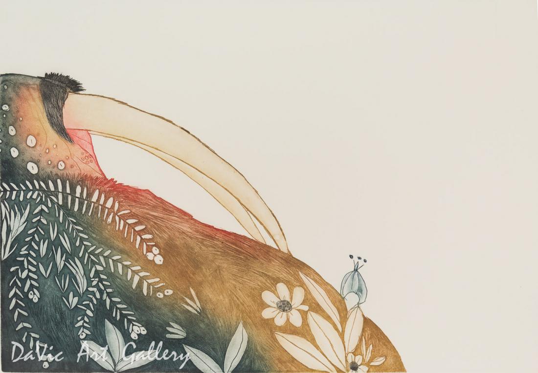 'Basking Walrus' by Ningeokuluk Teevee