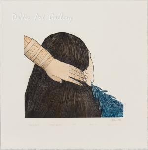 'Braiding My Hair' by Ningeokuluk Teevee