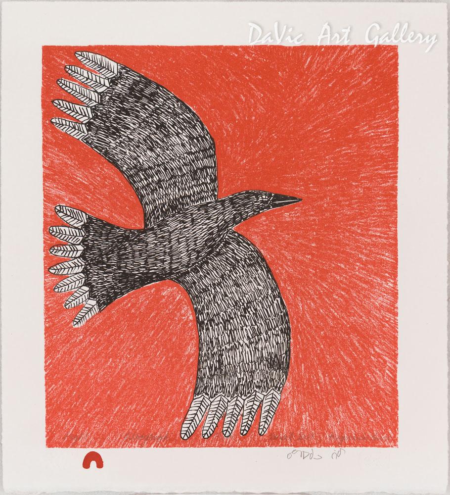 'Flight' by Ningeokuluk Teevee