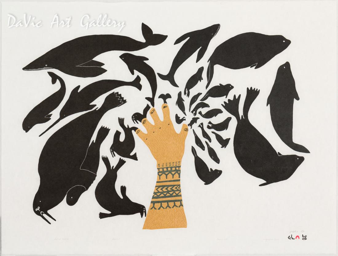 'Sedna's Creation' by Ningeokuluk Teevee
