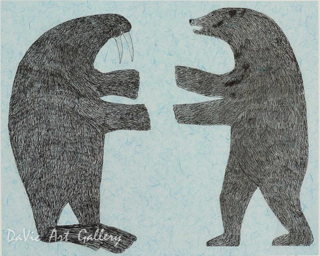 'Confrontation' by Nuna Parr