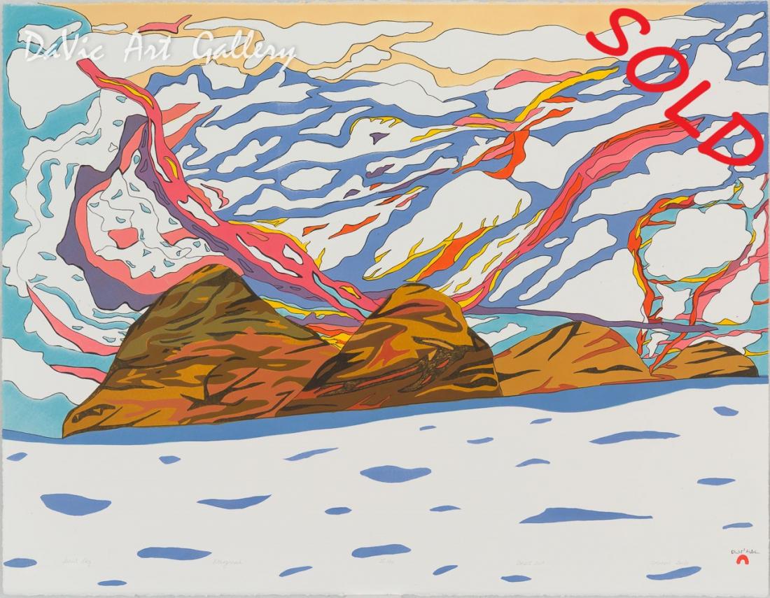 'Sunlit Sky' by Ooloosie Saila