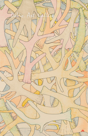 'Antlers & Bones' by Padloo Samayualie