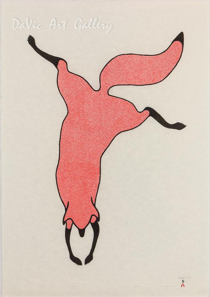 'Agile Fox' by Quvianaqtuk Pudlat