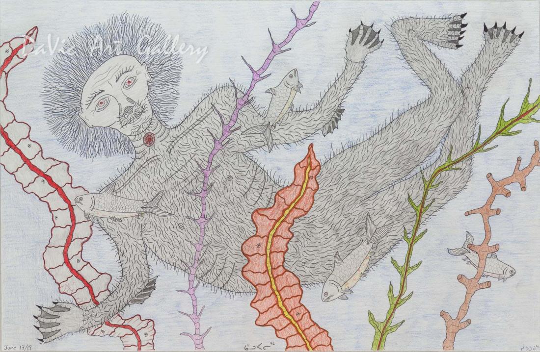 'Qalupalik' by Cee Pootoogook