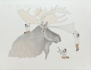 Untitled 'Friendship' by Qavavau Manumie