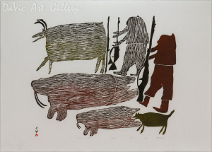 'Hunters of Old' by PARR