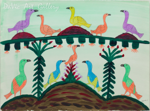 'Colourful Birds' by Eegyvudluk Ragee