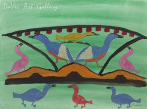 'Ulu Birds' by Eegyvudluk Ragee