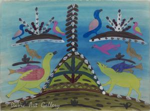 'My Spirit Helpers' by Eegyvudluk Ragee