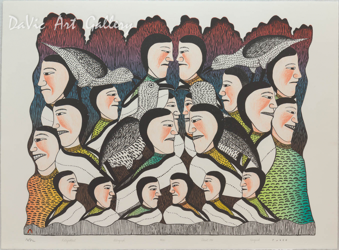 'Katajaktuit' by Kenojuak Ashevak