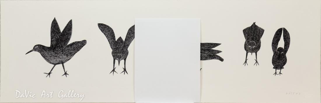 'Seabirds' by Ohotaq Mikkigak