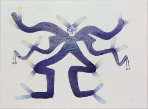 'Kudloopudlooallook (Sea Monster)' by Jessie Oonark