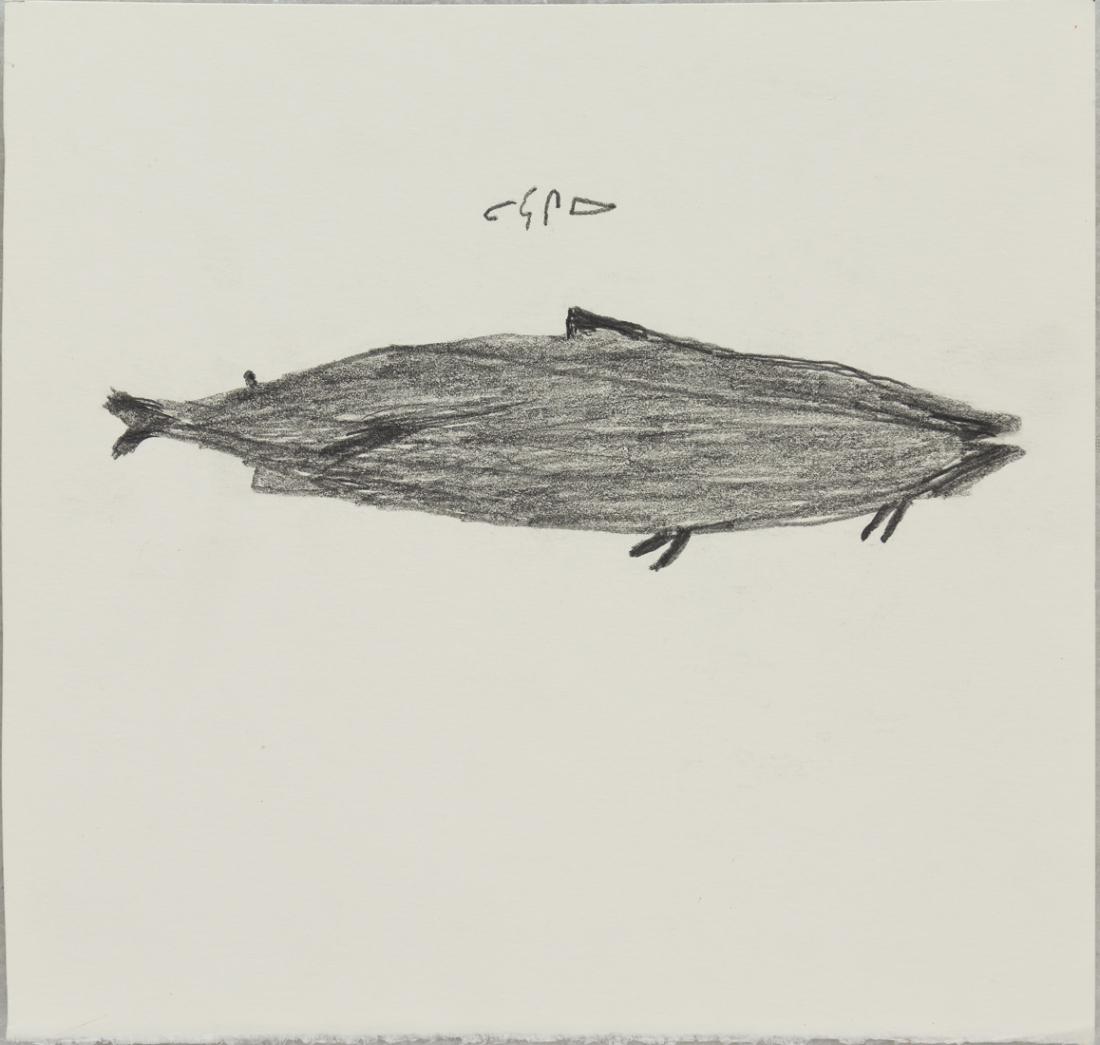 Untitled (Fish) by Luke Anguhadluq