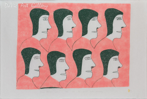 'Singing Northern Lights' by Jessie Oonark