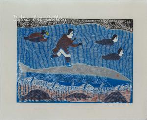 'Fish Helps Kiviuq' by Victoria Mamnguqsualuk