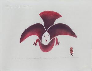 'Bird I Desire' by Napachie Pootoogook