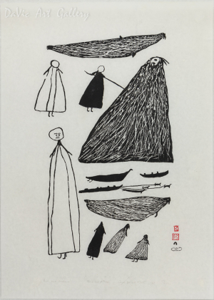 'Men and Walrus' by PARR