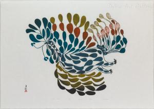 'Festive Bird' by Pitseolak Ashoona