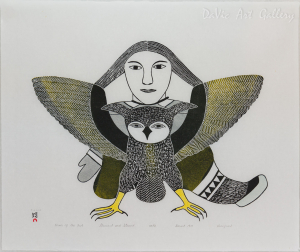 'Dance of the Owl' by Kenojuak Ashevak