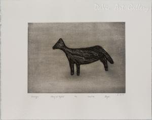 'Qimminggoa' (Dog) by Sheojuk Etidlooie