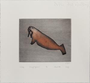 Aivilaaq (Small Walrus) by Sheojuk Etidlooie
