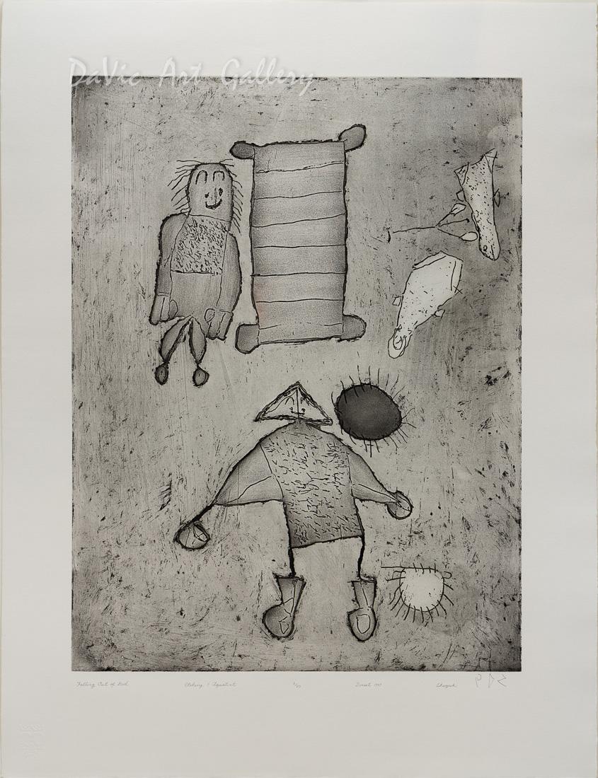 'Falling Out of Bed' by Sheojuk Etidlooie