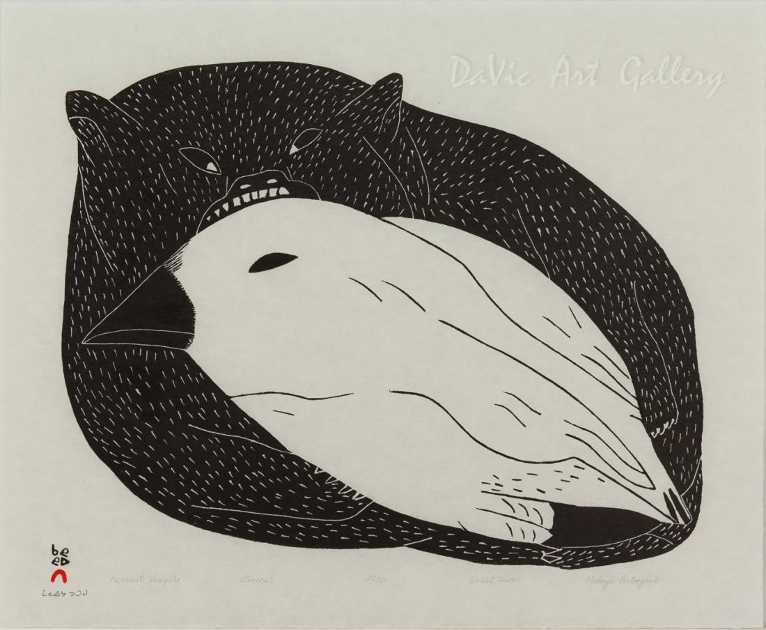 'Nunavut Vampire' by Malaija Pootoogook