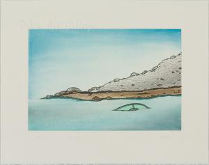 'Shoreline Mystery' by Nicotye Samayualie