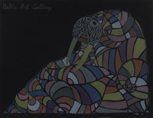 'Cozy Walrus' by Ningeokuluk Teevee
