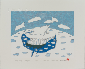 'Solitary Iceberg' by Ooloosie Saila