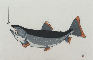 'First Catch' by Pauojoungie Saggiak