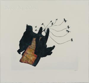 'Qimutisik' (Dog Team) by Pitaloosie Saila