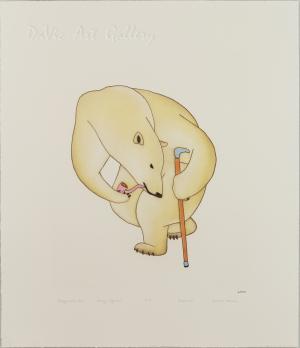 'Distinguished Bear' by Qavavau Manumie