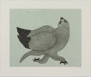 'Running Owl' by Quvianaqtuk Pudlat