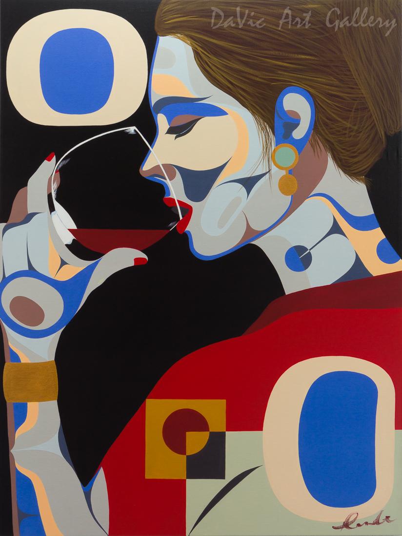'Elegantly Wined' by Rande Cook