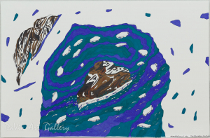 Untitled (The Cove) by Ooloosie Saila