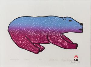 'Bounding Bear' by Malaija Pootoogook
