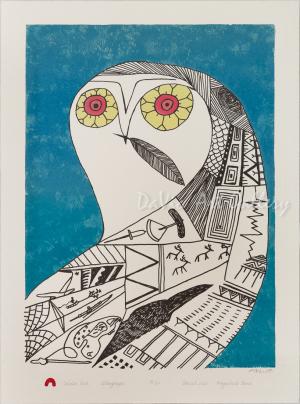 'Eclectic Owl' by Ningeokuluk Teevee