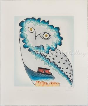 'Owl's Bequest' by Ningeokuluk Teevee