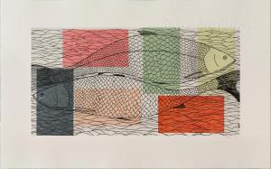 'Passing Char' by Ningeokuluk Teevee
